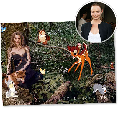 Stella McCartney - Bambi  -  fall campaign