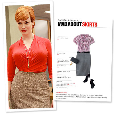 Fashion Photos on What S Right Now   Banana Republic Mad Men Style Guide