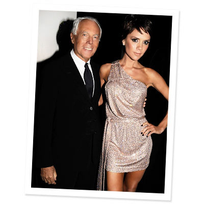 Victoria Beckham - Giorgio Armani