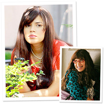 america ferrera ugly betty makeover. America Ferrera - Ugly Betty