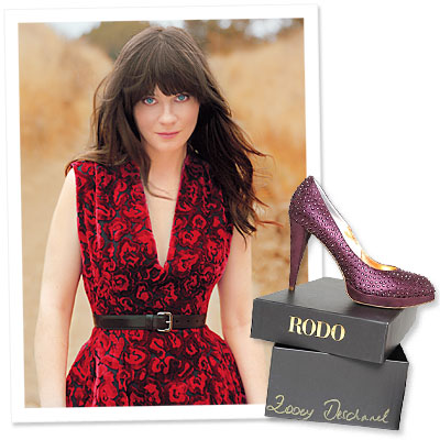 What&#039;s Right Now - Zooey Deschanel&#039;s Latest Role: Celebrity Shoe Designer