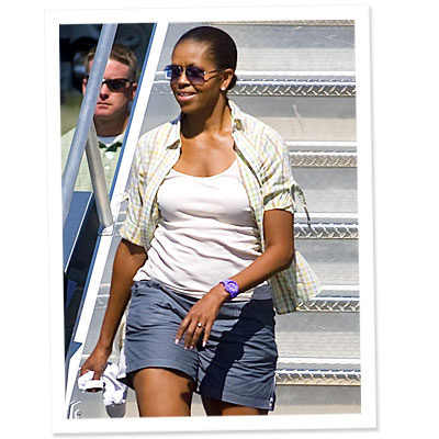 What Do You Think of Michelle Obama&#039;s Shorts?