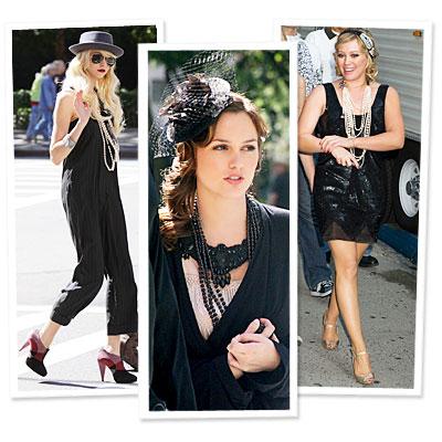 Hillary Duff - Leighton Meester - Gossip Girl - Taylor Momsen