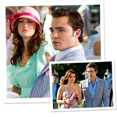 Gossip Girl - Leighton Meester - Blair - Ed Westwick - Chuck - Chace Crawford - Nate - JoAnna Garcia - What&#039;s Right Now