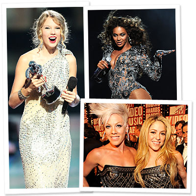 Video Music Awards - Taylor Swift - Beyonce - Pink - Shakira