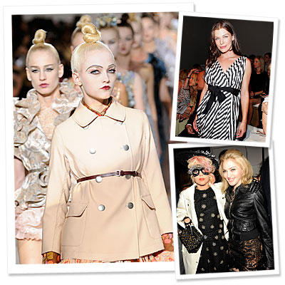 Fashion Week Day 5 - Marc Jacobs - Madonna