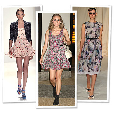Diane Kruger - Rebecca Taylor - Cynthia Rowley
