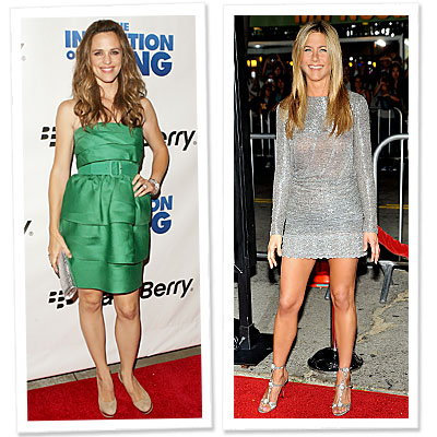 Jennifer Aniston - Jennifer Garner