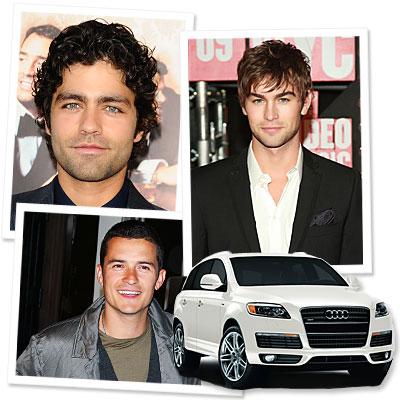 Audi - Adrian Grenier - Chase Crawford - Orlando Bloom