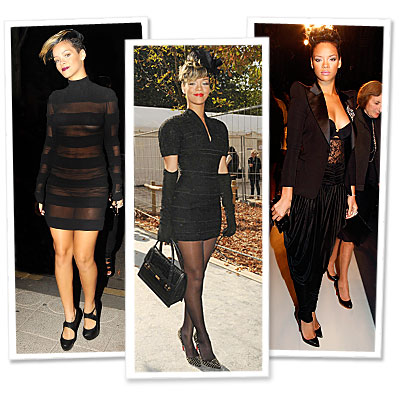 Rihanna - Gareth Pugh - Christian Dior - Balmain - Paris Fashion Week - What's Right Now