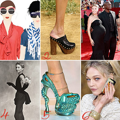 Kirna Zabete - Chanel clogs - Heidi Klum and Seal - Irving Penn - Alexander McQueen shoes - Chanel nail polish - Lunchtime Links - What's Right Now