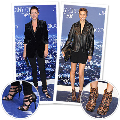 Whitney Port - Kate Walsh - Jimmy Choo for H&M