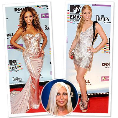Versace - Beyonce - Shakira