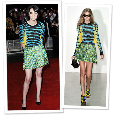 Kristen Stewart   on Stewart   S Proenza Schouler Reality   Instyle Com What S Right Now