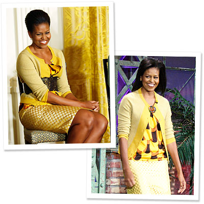 Michelle Obama - J. Crew