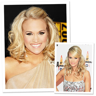 Carrie Underwood - New Haircut - American Music Awards - Celebrity Beauty