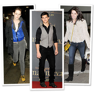 Twilight - J Brand - Ashley Greene - Taylor Lautner - Kristen Stewart