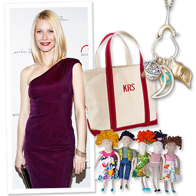 Gwyneth Paltrow - GOOP - gift guide