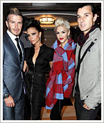 Gwen Stefani - Victoria Beckham - Gavin Rossdale - David Beckham