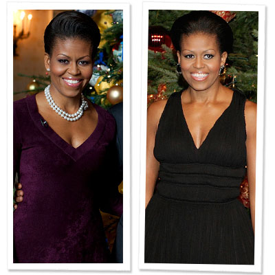 Michelle Obama - holiday style