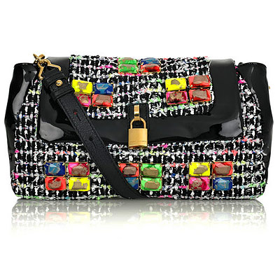 Marc Jacobs Fluorescent Tweed Purse