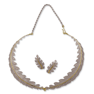 Buccellati Vintage Oak Leaf Necklace