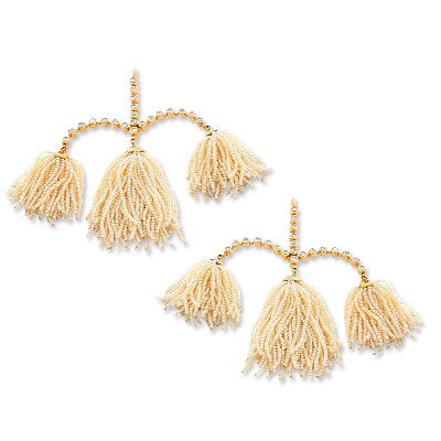 Garnzelle Plumes de Lumiere Earrings