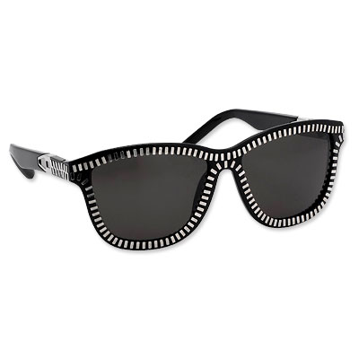Alexander Wang for Linda Farrow Zipper Sunglasses