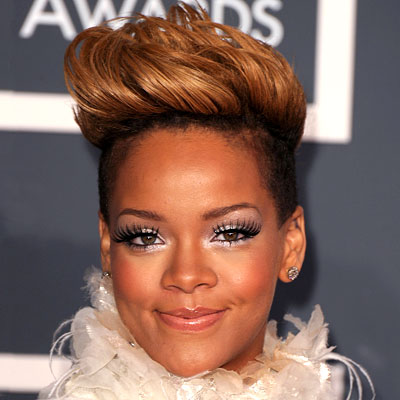 Rihanna Hairstyles Short Hair