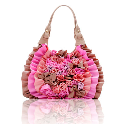Viktor and Rolf Pink Rose Bag