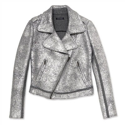 Gryphon New York Silver Biker Jacket