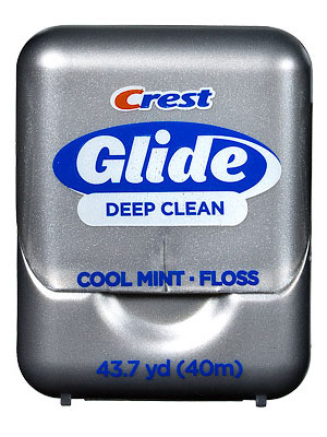 Crest Glide Deep Clean Cool Mint Floss