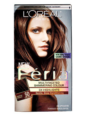 L'Oreal Feria Multi-Facted Shimmering Haircolour