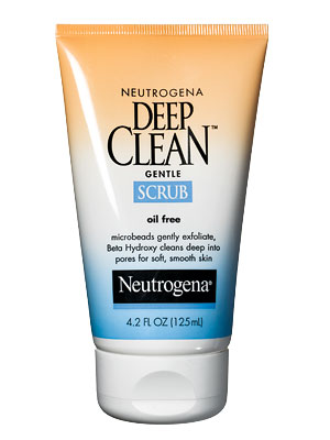 Neutrogena Deep Clean Gentle Scrub Oil-Free