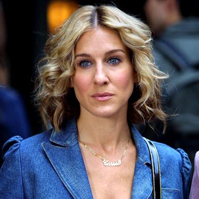 U prvom filmu imali smo priliku vidjeti <b>Carrie kao</b> brinetu (prilikom <b>...</b> - 042210-sarah-jessica-parker5-400