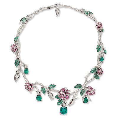 Dior Precieuses Rose Necklace