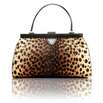 Rochas Leopard-print Purse