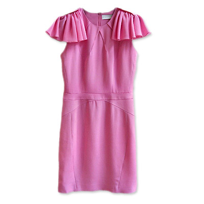 Bensoni Ruffled Sheath Dress