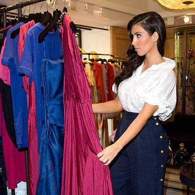 Kim Kardashian - Shopping Tips