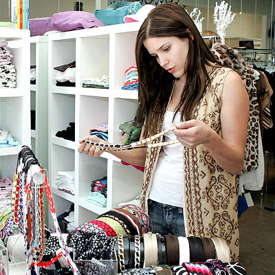 Sophia Bush - Shopping Tips