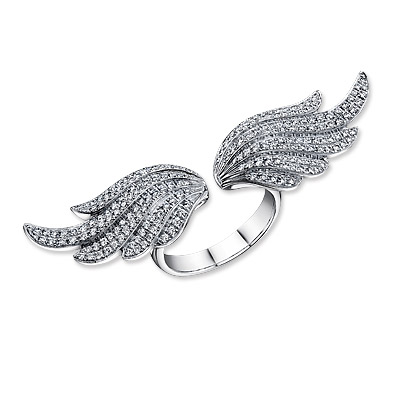 Anita Ko Gold and Diamond Wing Ring