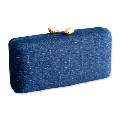 Kotur JB Renna Denim Clutch