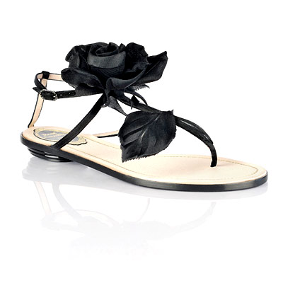 Réne Caovilla Rose Sandals