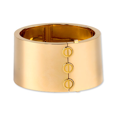 Cartier Love Cuff in 18K Gold