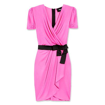 D&G Fuchsia Wrap Dress