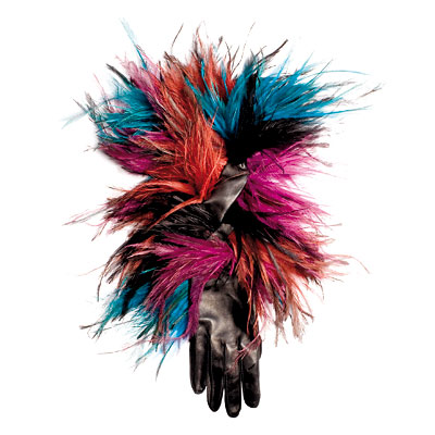 Roger Vivier Bird Gloves