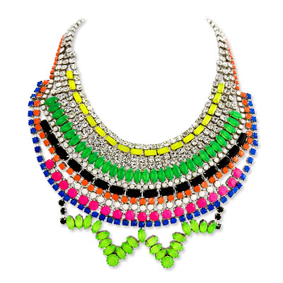 Tom Binns Tekno Chic Piece de Resistance Necklace