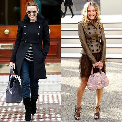 Верхняя одежда в стиле милитари отлично сочетается не только с джинсами...