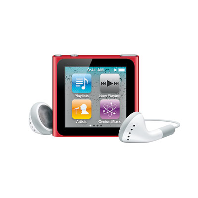 Apple - ipod - ideas for her - holiday shopping