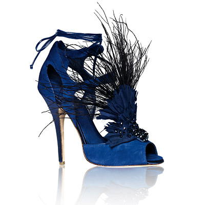 Donna Karan New York Bird of Paradise Gladiators